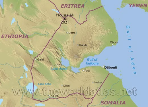 map of ethiopia cities. Other cities: Dorra, Galafi,